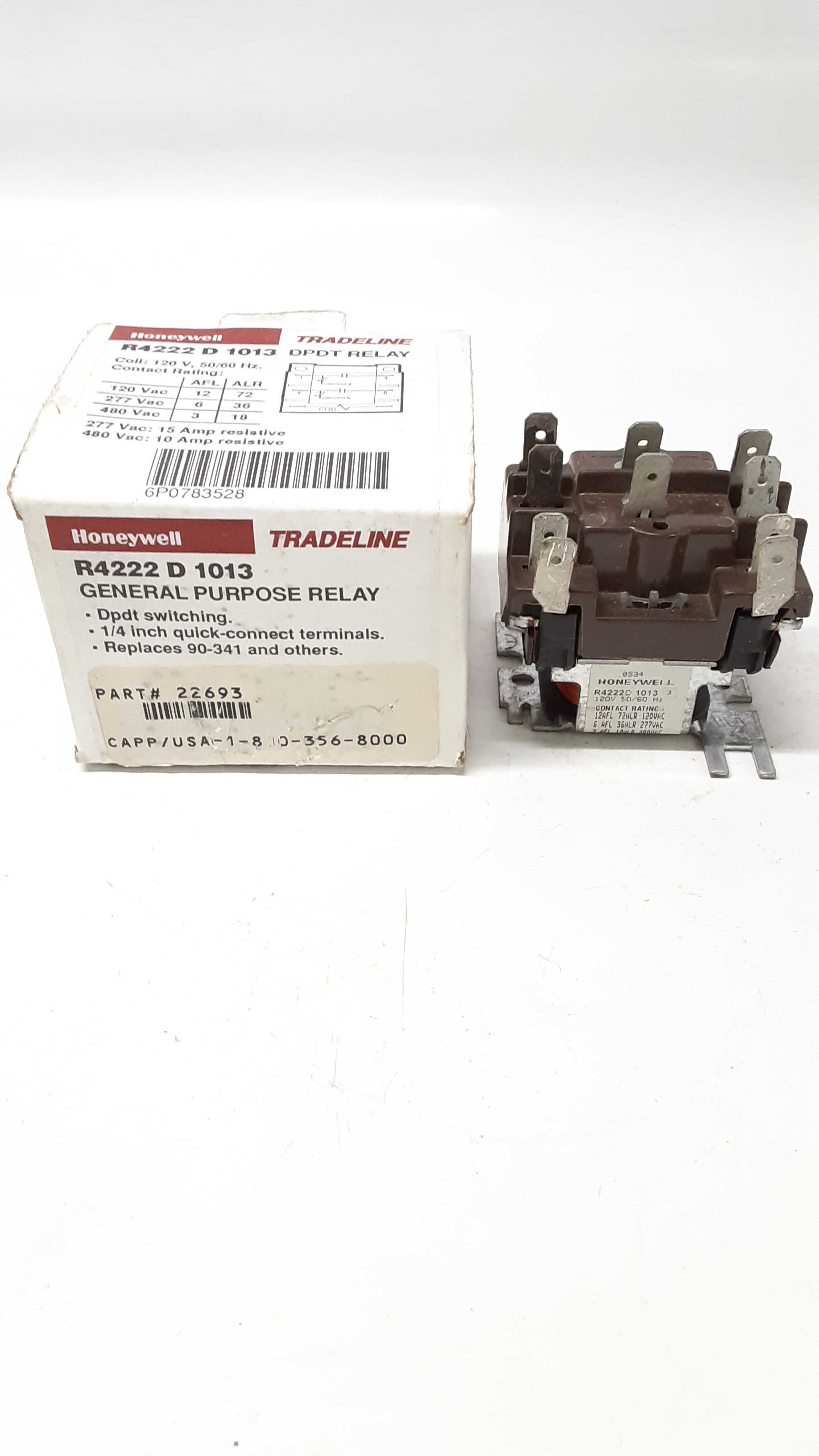 Honeywell R4222D1013 Relay